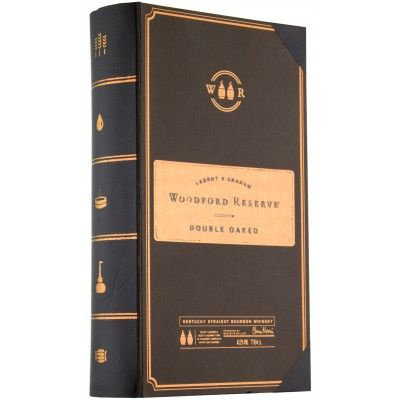 Woodford Reserve Double Oaked Coffret Livre