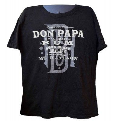 Don Papa 7 ans boite collector + T-Shirt Don papa