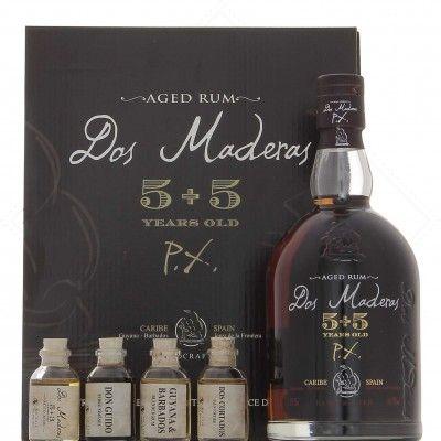 Dos Maderas PX 5+5 coffret avec 4 échantillons