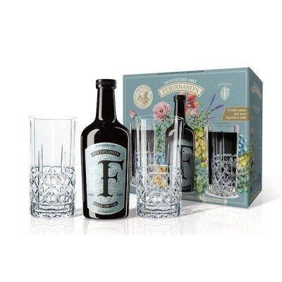 Coffret Ferdinand's Saar Dry Gin + 2 verres