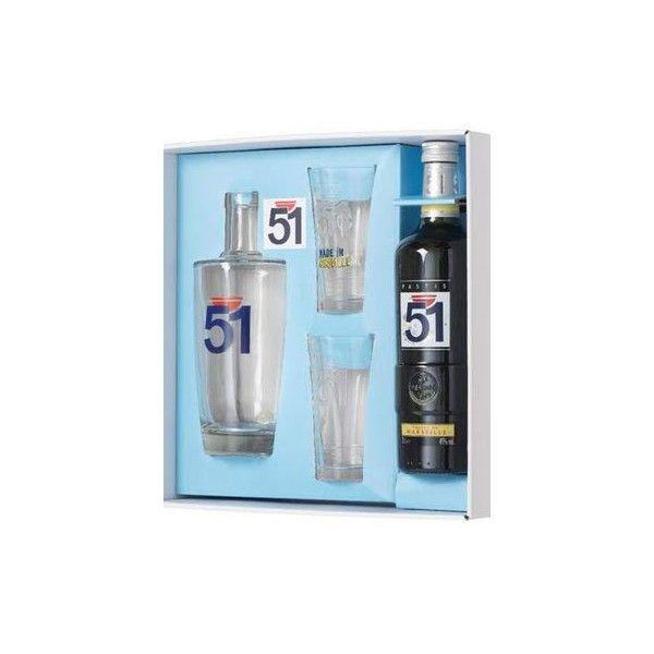 Coffret Pastis 51 - 70cl + carafe + 2 verres