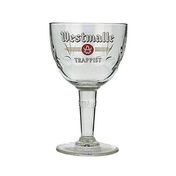Verre à bière WESTMALLE trappiste 33cl