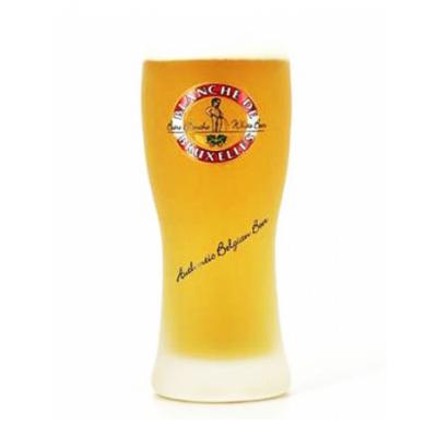 Verre à bière BLANCHE de BRUXELLES 33 cl