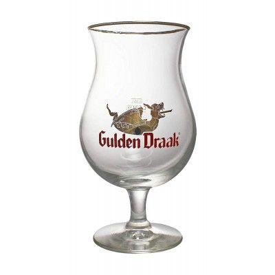 Verre à bière GULDEN DRAAK original tulipe 33cl