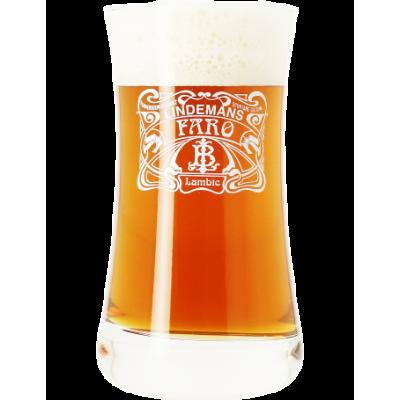 Verre à bière LINDEMANS FARO 25cl