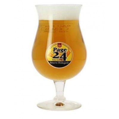 Verre à bière PAGE 24 réserve Hildegarde 25cl