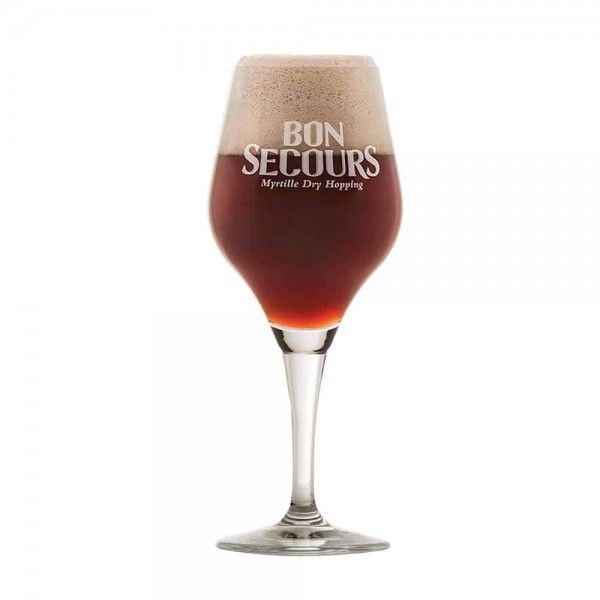Verre à bière BON SECOURS myrtille dry hopping 33cl