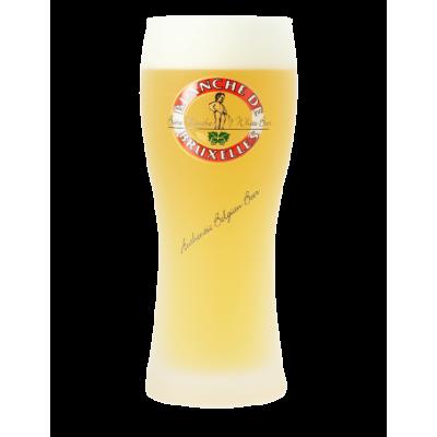 Verre à bière BLANCHE de BRUXELLES 25 cl