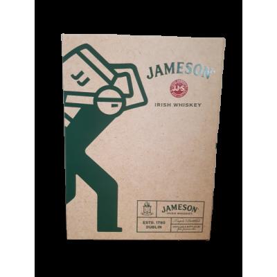 Coffret Jameson Black Barrel 1x70cl +2 verres