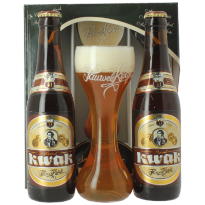 Coffret Kwak 2x33 + 1 verre