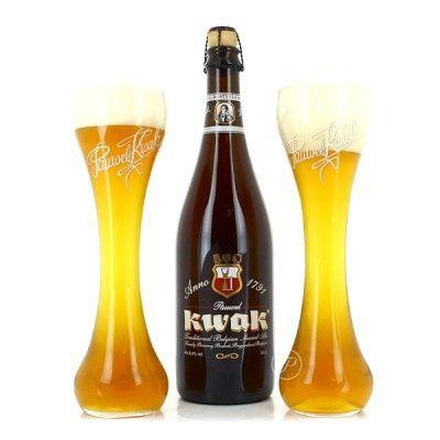 Coffret Kwak 1x75 + 2 verres