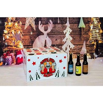 Calendrier de l'avent 2019 - 24 bières + 1 verre  - 24 brasseries internationales