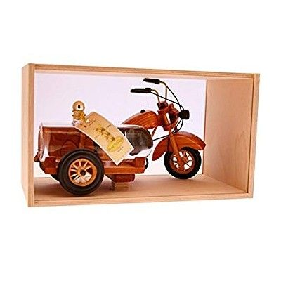 Moto side car - Eau de vie Poire William