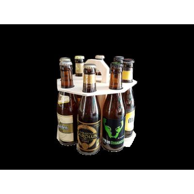 Carrousel bois 8 bières belges triple d'exception