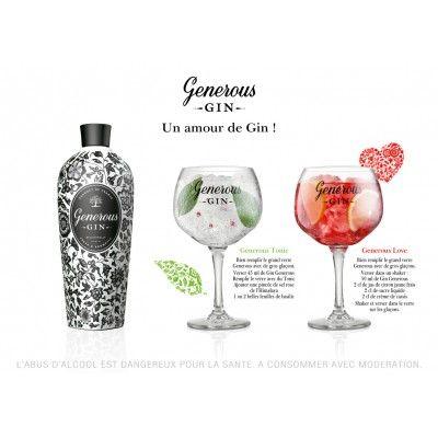 Generous Gin + 2 verres