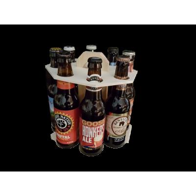 Carrousel bois 8 bières américaines