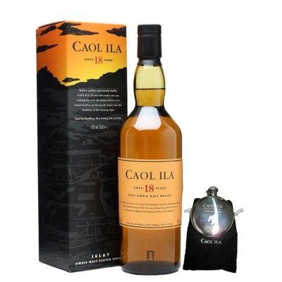 Caol Ila 18 ans + Flasque cadeau