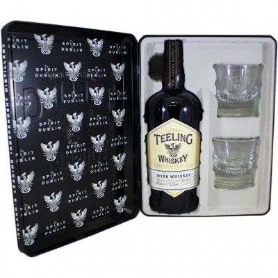 Coffret Teeling Small Batch 1x70cl +2 verres