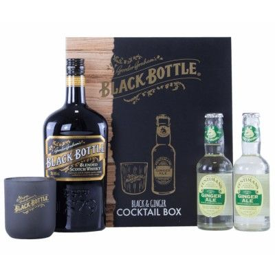 Coffret Black Bottle Black & Ginger Cocktail Box