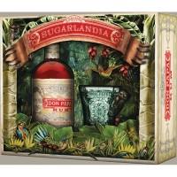 Coffret Sugarlandia Don Papa 7 ans + verre collector au singe tarsier