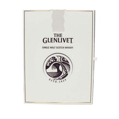 Coffret Glenlivet 15 ans French Oak 70cl + 2 verres