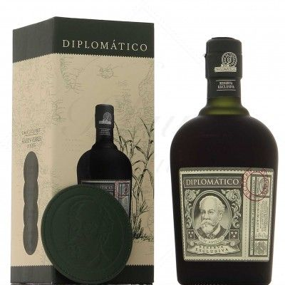 Coffret Diplomatico Reserva Exclusiva - La Légende de Don Juancho - 4 SOUS VERRES -