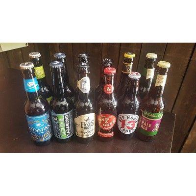 Lot de 12 bières irlandaises et ecossaises