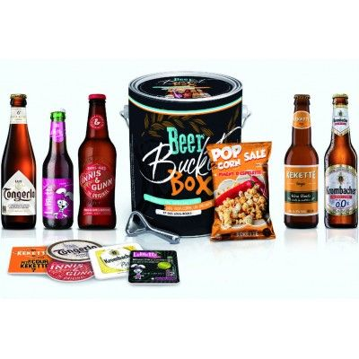 Seau Beer Bucket Box (5 bières + Goodies)