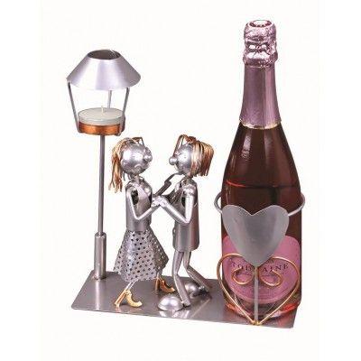 Porte-bouteille de Vin ou de bière AMOUREUX