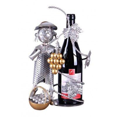 Porte-bouteille de Vin ou de bière VENDANGEUR