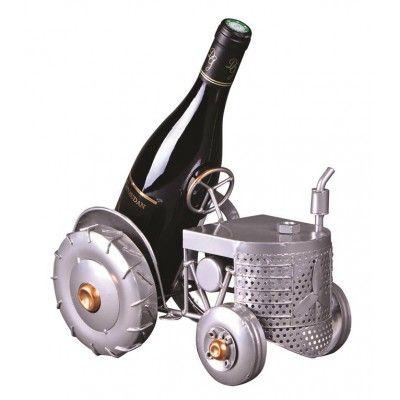 Porte-bouteille de Vin ou de bière TRACTEUR