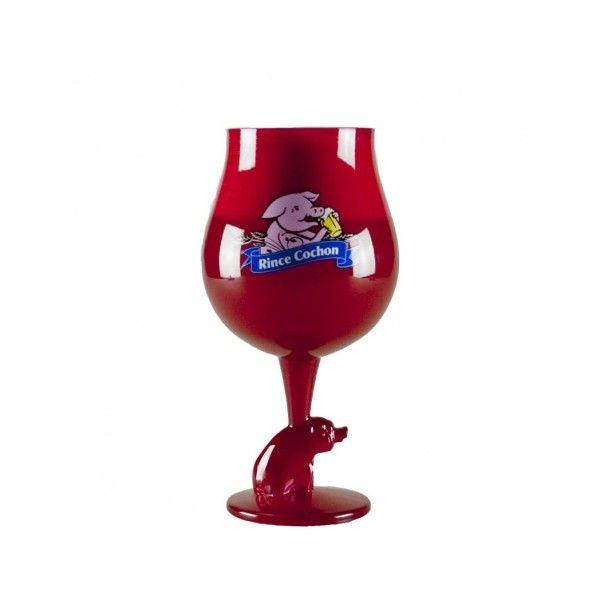 Verre à Bière Rince Cochon Rouge 50cl