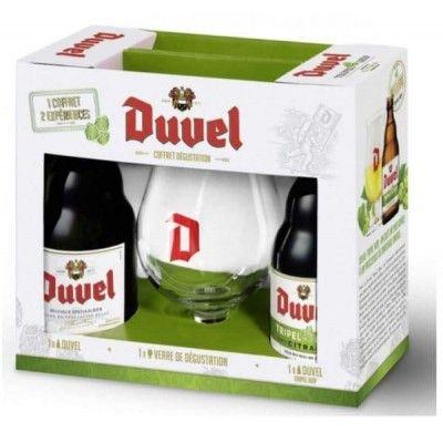 Coffret Duvel 2x33cl + 1 verre
