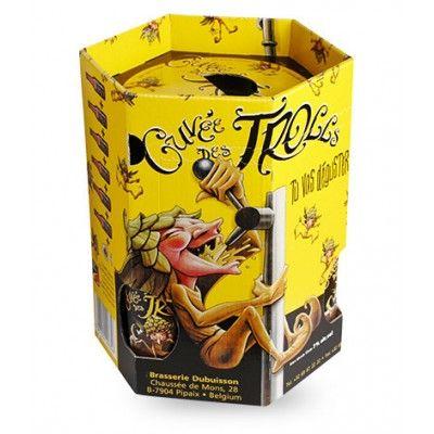 Coffret Cuvée des Trolls 6x25cl + 1 verre