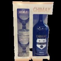 Coffret Chimay Cinq Cents Magnum 1,5l 8°+ 2 Verres