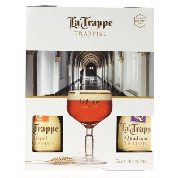 Coffret La Trappe 4x33cl + 1 verre
