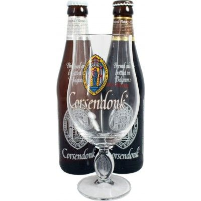Coffret Corsendonk 2x33cl + 1 verre