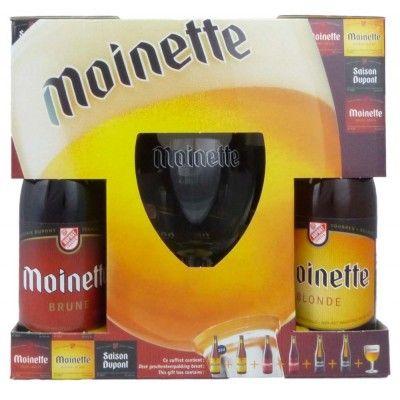 Coffret Moinette 6x33cl + 1 verre